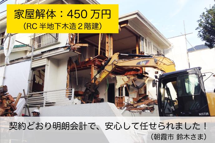 東京・埼玉の解体工事なら協同開発にお任せください!